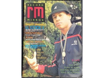 RECORD MIRROR - JULY 1987 - LL COOL J GUNS 'N' ROSES PRINCE