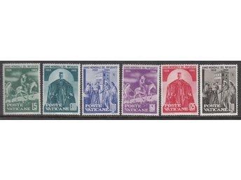 Vatikanen 1960. Mi nr: 338-43 ** - Njurunda - Vatikanen 1960. Mi nr: 338-43 ** - Njurunda