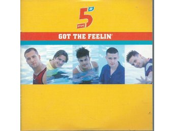 FIVE - GOT THE FEELIN  (CD MAXI/SINGLE )