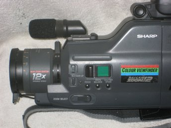 Video kamer sharp VHS  C