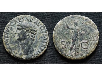 Claudius, AE AS, Rome.