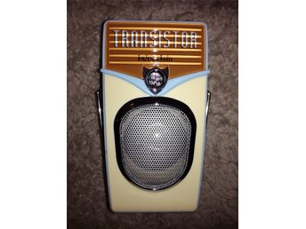 Transistor retro am/fm radio