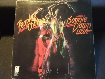 LP - PEOPLE´S CHOICE. Boogie down U.S.A. 1975