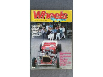 Wheels nr 7 1987: Dodge Charger, Coronet R/T och Super Bee, Ford Skyliner 1957