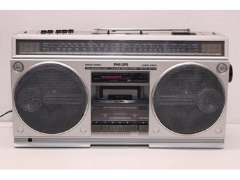 Philips D8434 (4BAND SPATIAL STEREO RADIO CASSETTE RECORDER)