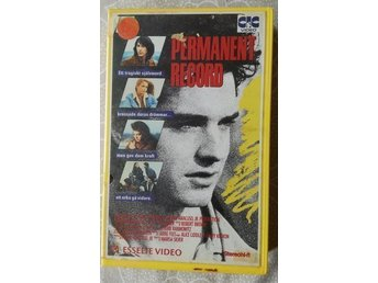 Permanent Record ~ VHS