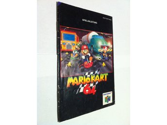 N64: Manualer: Mario Kart 64 (End. man. -Tysk)