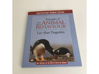 Bok, Principles of Animal Behavior, Lee Alan Dugatkin, Häftad