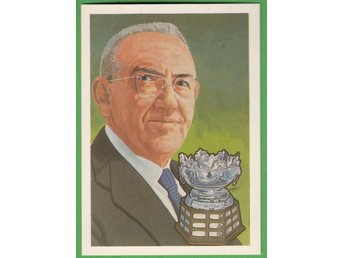 1983 Hall of fame #41 Frank Selke