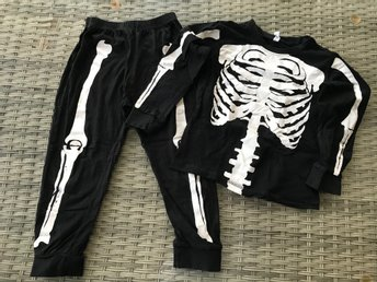 Pyjamas Skelett storlek 110116