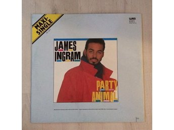 "JAMES INGRAM - PARTY ANIMAL. (MVG 12"" MAXI)"