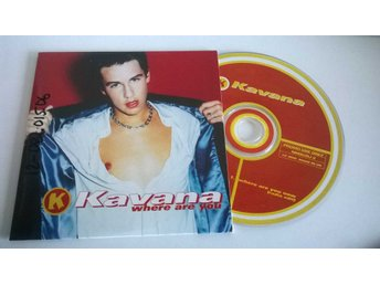 Kavana - Where are you, single CD, promo