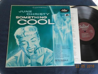 JUNE CHRISTY W/ Pete Rugolo - Something Cool, Capitol LP reissue 80-tal Japan