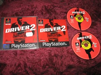 DRIVER 2 PLAYSTATION ONE KOMPLETT