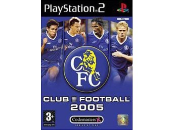 Chelsea Club Football 2005 - Playstation 2 - Varberg - Chelsea Club Football 2005 - Playstation 2 - Varberg