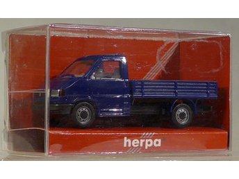 Herpa H0 1:87 nr 041676 VW liten lastbil - Halmstad - Herpa H0 1:87 nr 041676 VW liten lastbil - Halmstad