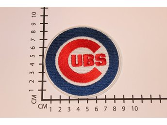 Chicago Cubs MLB Baseball Broderat tygmärke att stryka på | Iron-on patch