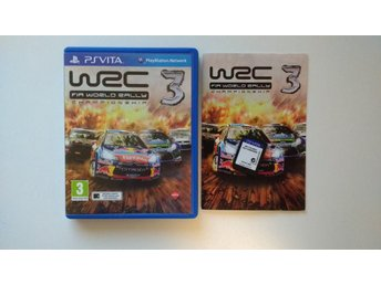 PlayStation Vita: FIA World Rally Championship WRC 3