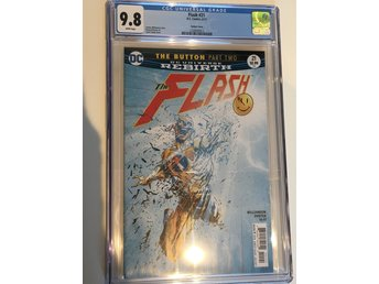 The Flash (2017) #21 CGC 9.8 The Button part 2