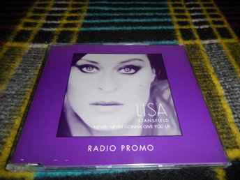 Lisa Stansfield Never Never Gonna Give You Up CD-maxi Radio Promo NM