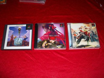 Arc the Lad 1, 2, 3  RPG PS1 JAP