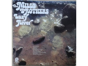 The Mills Brothers title* Lazy River* Jazz LP US