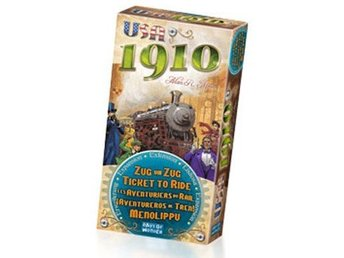 Ticket To Ride 1910 Expansion - Brädspel