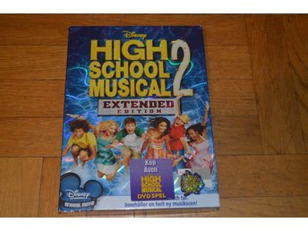 High School Musical 2 - Extended Edition (Zac Efron) 2007 - DVD INPLASTAD