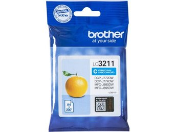 Brother LC3211C Cyan 200 pages