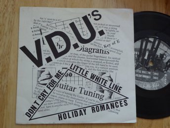 VDU's - Dont cry for me  Thin sliced records UK -80