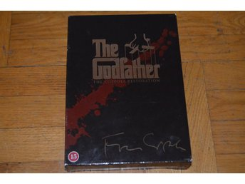 The Godfather - Gudfadern Collection 1-3 Box - 5-Disc DVD