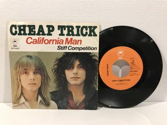 Cheap Trick - California Man (EPC 6427) RARE