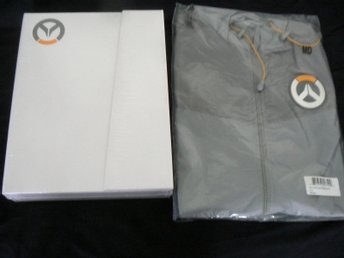 Overwatch Art Book The Art of Overwatch Limited Edition + Logo Windbreaker Nya