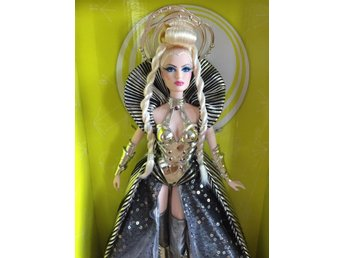 Barbie Goddess Of The Galaxy Docka Ny Oöppnad med Mattel skydds box Gold Label