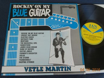 VETLE MARTIN - Rockin on my blue guitar, Jan 33-8016, 1982