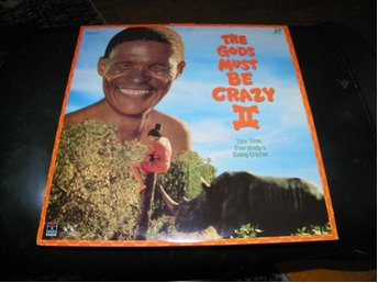 The gods must be crazy II - 1st  Laserdisc