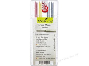 PICA  STIFT 8 ST SET 4020
