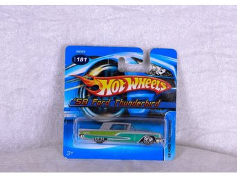 Ford Thunderbird -58 Hot wheels