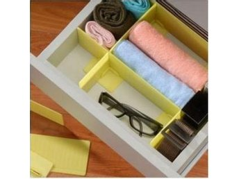 NY!Grid Drawer Divider Organizer Closet Drawers Storage