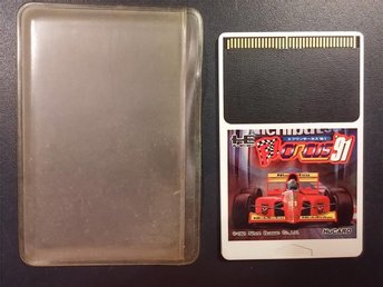 F1 Circus 91 - PC-Engine - Hu-Card