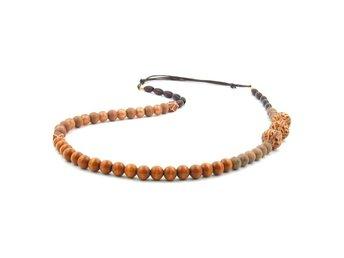 Halsband, Nougat/Light Brown/Dark Brown Colours - Enstaberga - Halsband, Nougat/Light Brown/Dark Brown Colours - Enstaberga