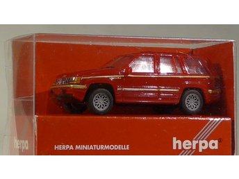Herpa H0 1:87 nr 021784 Jeep - Halmstad - Herpa H0 1:87 nr 021784 Jeep - Halmstad