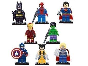 Marvel Avengers Superheros Minifigurer 8 st....FRI FRAKT.. - Hudiksvall - Marvel Avengers Superheros Minifigurer 8 st....FRI FRAKT.. - Hudiksvall