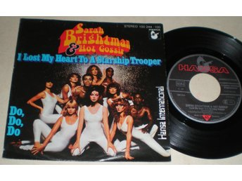 Sara Brightman 45/PS I lost my heart to a starchip trooper 1978