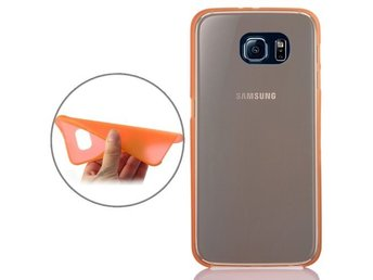Samsung Galaxy S6 Ultratunt Frostad Skal Orange