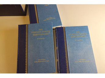The complete Oxford Shakespeare I-III