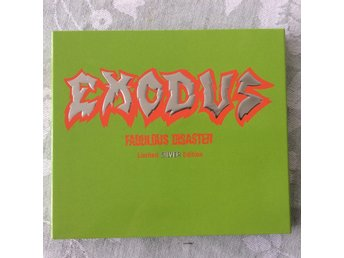 Exodus  ?– Fabulous Disaster - Limited silver edition - rare