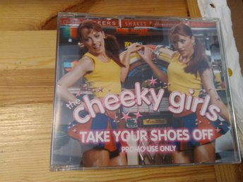 The Cheeky Girls - Take Your Shoes Off, CD single, promo