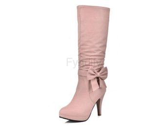 Dam Boots Femme Daily Knee High Boots Footwear Pink 40