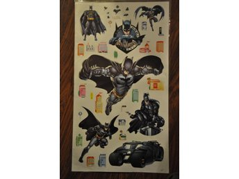 Wall stickers/ Batman/ Väggdekoration/ Wallies